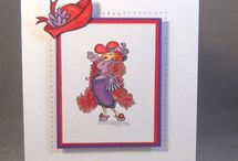 Red Hat Cards / by Linda Kellum