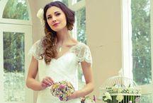 Wedding Bridal Vintage Brooch Bouquet