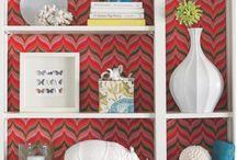 Haute Bookshelves / Colorful, Creative, Vibrant, Sophisticated Bookshelves