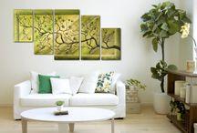 Modern festmények.... / vászonra, falra festett képek a lákás minden területén....kreatív, dekoratív kiegészítőként...