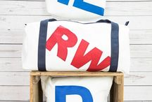 Personalised Upcycled Sailcloth Flight Bag, Tote Bag