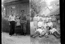 FOTO 60's B- W Wieś