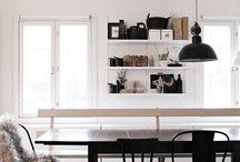 Dining Room/ Black & White / Dining Room/ Black & White