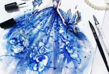 Fashion illustration / Fashion is about something that comes from within you!