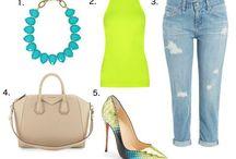Spring Style / Handbag, Clothing and Footwear.