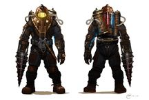 BioShock: Big Daddy / The protagonist from BioShock 1+2