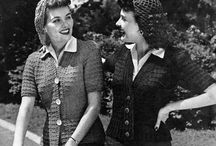 Vintage Sweaters / Sweaters from the 30s, 40s, and 50s