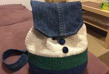 Bezouschek Mel / Moje vlastní tvorba - háčkování, tkaní, kabelky