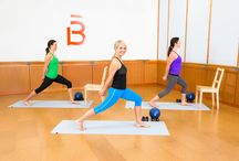 barre workout at home / Try this at-home version to get dramatic results without visiting a dance studio. Highly effective sweat session stay home and try these beginner barre exercises / by Evonne Salomon