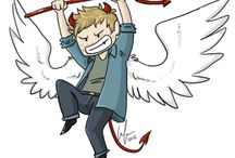 Supernatural's Angels Fanart