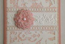 Cricut damask decor