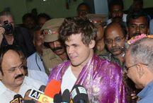 Match Carlsen - Anand. Chenai 11/2013