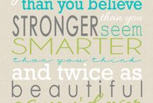 CUTE POSITIVE QUOTES AWWW