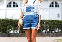 Overalls / Overall trend style inspiration: flirtskirtormarry.com/style-tips/overalls