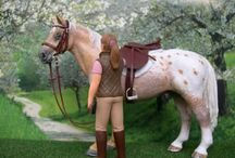 Schleich horses and animals