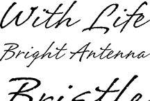 手書き 筆記体