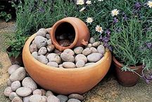 WATER FEATURES  / DIY SMALL WATER FEATURES  / by Colleen Wells