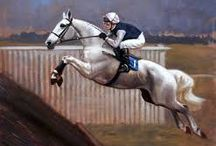 Race Horses In Art- Desert Orchid
