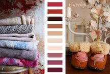 Fall/Winter 2014 Color and Texture Knitting Trends / View these palettes and textures to become inspired this fall and winter.