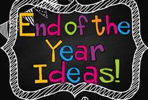 End of year ideas