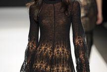 Вязание. Платья