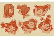 Animation Characters and Sheets / by Viola Baier