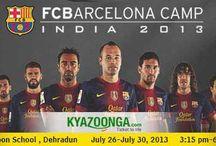 KyaZoonga.com: Register online for FCBarcelona India Camp