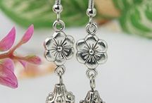 earrings, jewelry