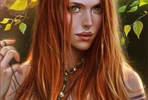Fantasy Portraits / fantasy rpg character portraits / by Phil O'Neill