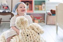 Amigurumi grande para crianças sentarem em croche ou tricô