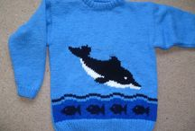 Cute hand knitted animals / Hand knitted cute animal sweaters by #bexknitwear
