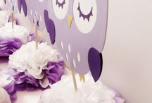 owl theme for girls