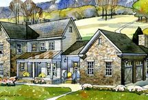 Floor plans / House outlines, great houses, love the place.
