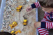 Rock,Sand and truck box