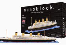 Nanoblock new item arrival-NB021 Titanic.