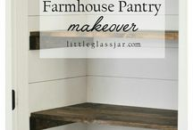 {Home} Pantry and Closet