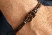 mens bracelets leather