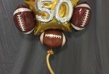 Super Bowl 50 Santa Clara / Balloon Decorations for Super Bow Football Party