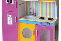 wooden cucina bambini