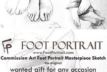 Art FOOTPORTRAIT order online the original www.footportrait.com / www.footportrait.com  Get your FOOT PORTRAIT; Send your photo of feet & Commission Art FOOT PORTRAIT Masterpiece Sketch  WANTED GIFT FOR ANY OCCASION & YOUR SPECIAL CELEBRATIONS; YOUR BIRTHDAY, GRADUATION, WEDDING, EVENTS,  FOR ALL GREAT VICTORY DAY & FOR EVERYONE YOU LOVE VALUABLE FOR GENERATIONS Price: £99  5 working days time of completion  FAST FREE Delivery UK  (for the rest of the world is standard delivery). Order online, deliver worldwide Guarantee 100% Original