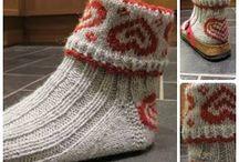 Stickning sockor