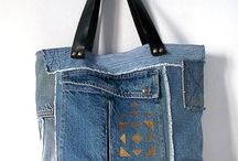 Bags from jeans
