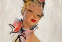 art of Jean-Gabriel Domergue / by Amanda Bryson