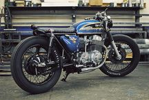 Bike passion / The big boss has a passion for motorcycles, riding, buying and fixing them up.