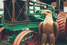Birthday parties at the Tractor Muesum / Ideas for, and pictures for, birthday parties here at the Heidrick Ag History Center!