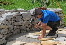natursteinmauer trockenmauer