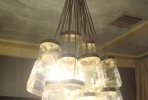 DIY Chandelier / by trishden