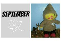 maanden, seizoenen en het weer: puk