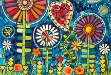 mozaik festés