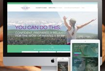 Health, Wellness and Fitness Website Design